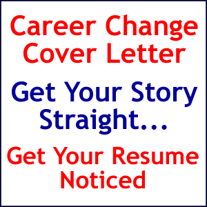 Changing careers cover letter explain